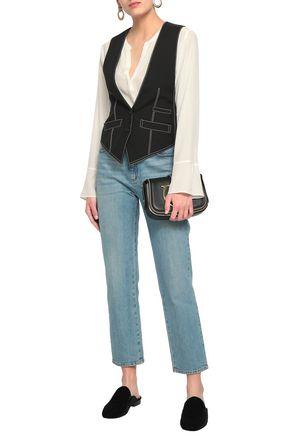 CHLOÉ Paneled woven vest
