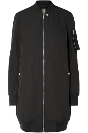 DRKSHDW by RICK OWENS Cotton-blend bomber jacket