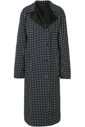 HAIDER ACKERMANN Polka-dot voile coat