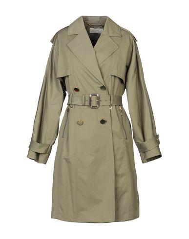 Купить Легкое пальто цвет зеленый-милитари