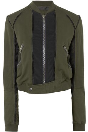 HAIDER ACKERMANN Cotton-jersey bomber jacket