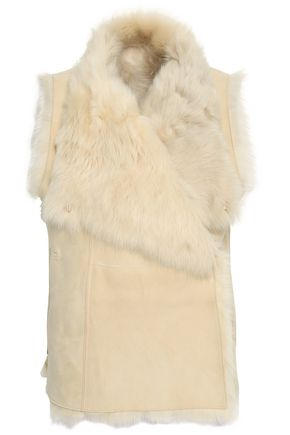 METEO by YVES SALOMON Shearling vest