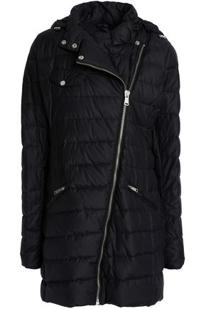 BELSTAFF Quilted cotton-blend hooded down jacket