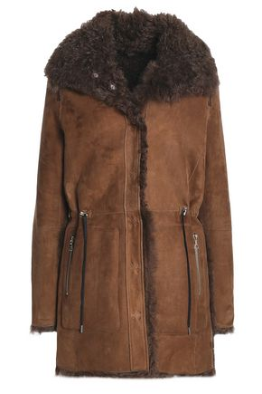 METEO by YVES SALOMON Reversible shearling jacket