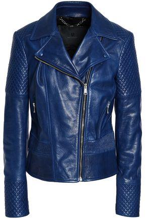 BELSTAFF Matterlex leather biker jacket