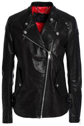 BELSTAFF Burnett leather biker jacket