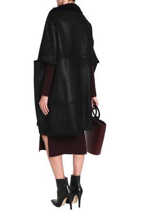 YVES SALOMON Reversible oversized shearling coat