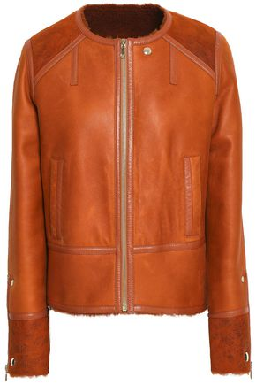 YVES SALOMON Rouille reversible shearling jacket