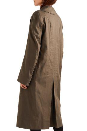 HAIDER ACKERMANN Oversized cotton-gabardine trench coat