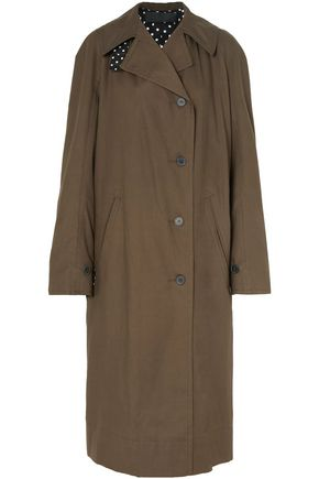 HAIDER ACKERMANN Oversized cotton-gabardine trench coat