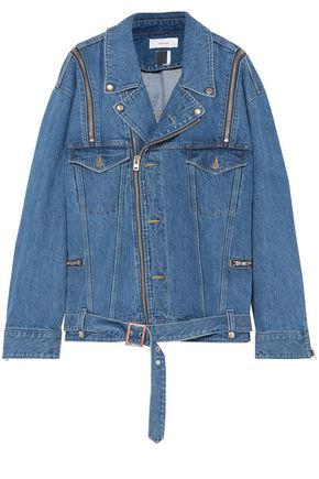 FACETASM Convertible oversized denim jacket