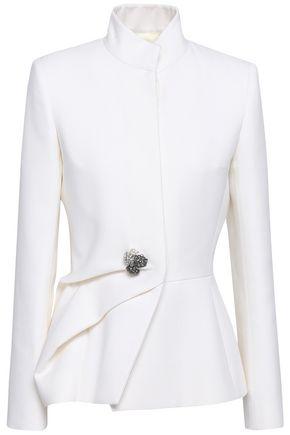 LANVIN Embellished wool-twill jacket