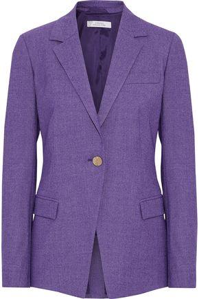 VERSACE COLLECTION Wool-blend twill blazer