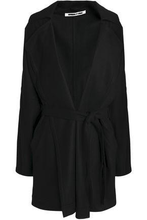 McQ Alexander McQueen Oversized belted wool-blend felt jacket