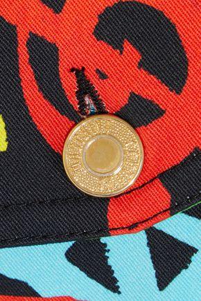 MOSCHINO Printed denim jacket