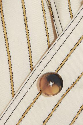 DEREK LAM 10 CROSBY Printed jacquard blazer