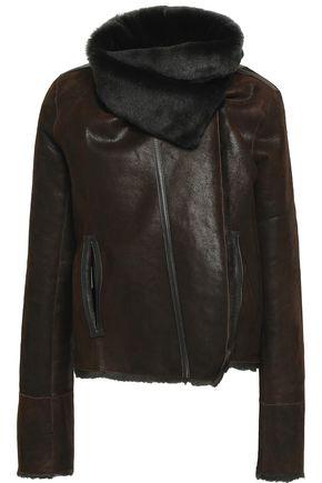 METEO by YVES SALOMON Reversible suede jacket