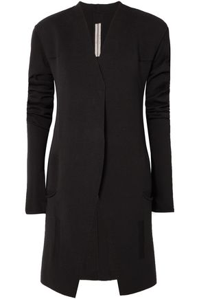 RICK OWENS LILIES Paneled cotton cardigan