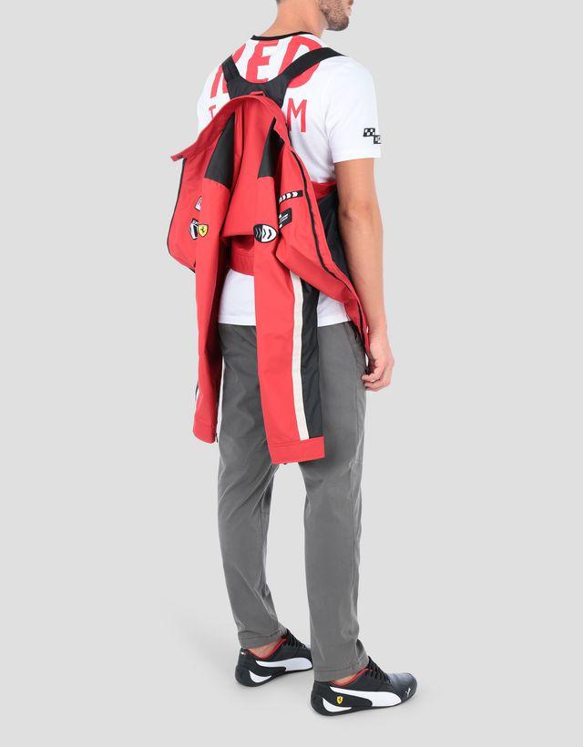 ... Scuderia Ferrari Online Store - Everywhere Red men s nylon biker jacket  - Biker Jackets ... 21398d9236