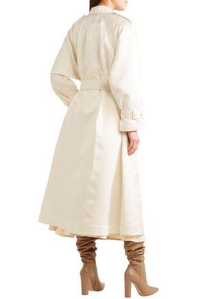 GABRIELA HEARST Frazier silk-satin coat