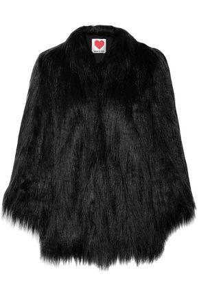 HOUSE OF FLUFF Yeti convertible oversized faux fur coat