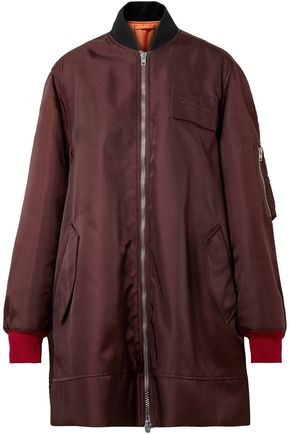 CALVIN KLEIN 205W39NYC Oversized shell bomber jacket