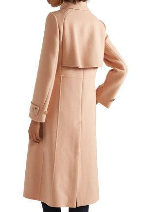 CHLOÉ Wool and cashmere-blend felt coat