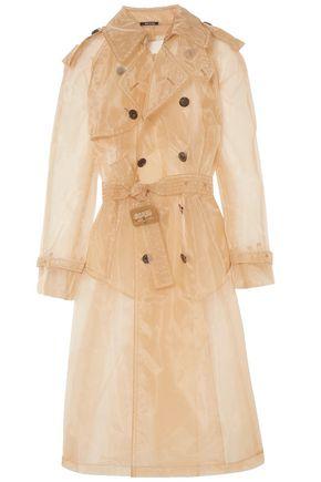 MAISON MARGIELA Organza trench coat
