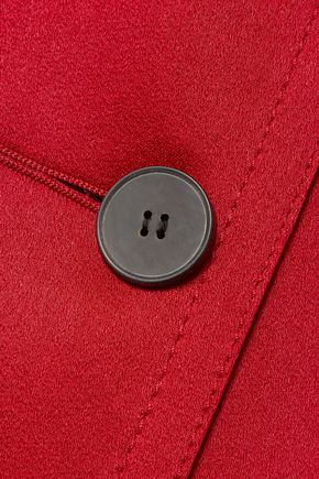 HAIDER ACKERMANN Crepe-satin coat