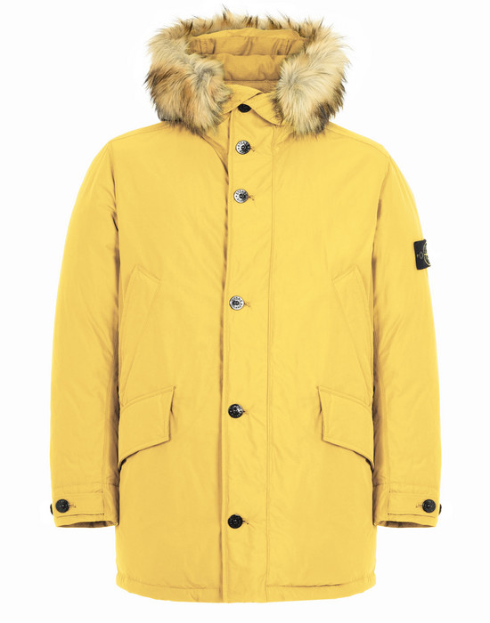 STONE ISLAND LONG JACKET 42926 MICRO REPS DOWN