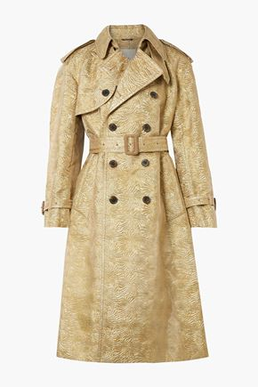 MAISON MARGIELA Brocade trench coat