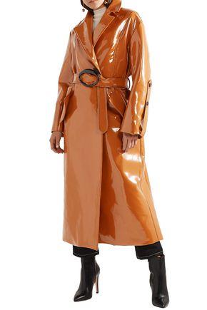 ELLERY Nine to Five Pod vinyl trench coat