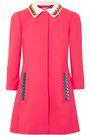 MARY KATRANTZOU Mason embellished stretch-wool jacket