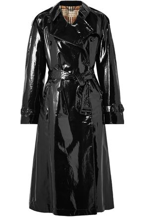 BURBERRY Coated-cotton trench coat