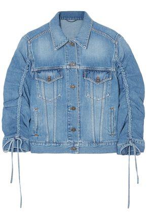 KENZO Ruched denim jacket
