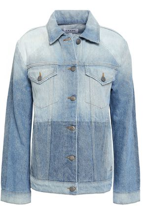 FRAME Faded denim jacket