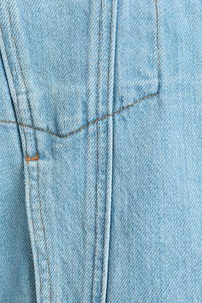 FRAME Embroidered denim jacket