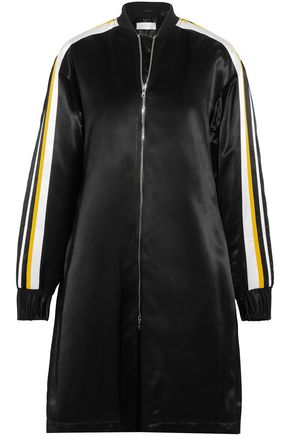 VICTORIA, VICTORIA BECKHAM Striped satin jacket
