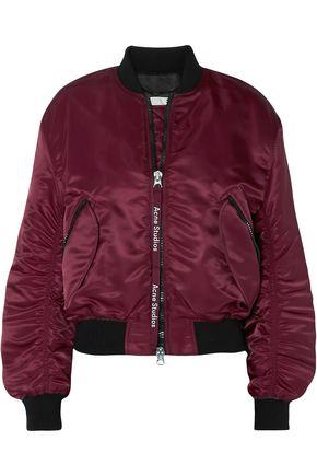 ACNE STUDIOS Clea shell bomber jacket