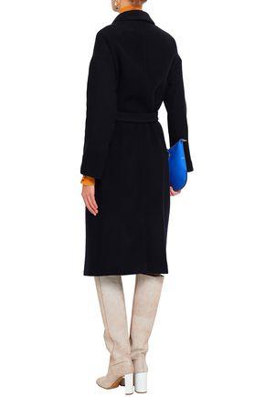 BA&SH Marc double-breasted wool-blend felt coat