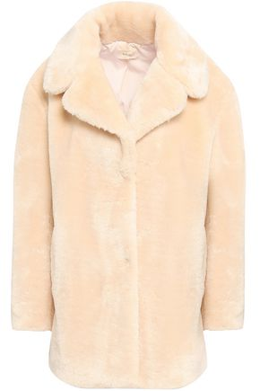 BA&SH Island faux fur jacket