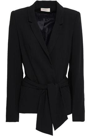 BA&SH Tie-front crepe blazer