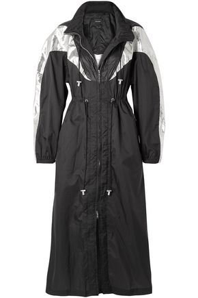 ISABEL MARANT Rumber two-tone shell hooded jacket