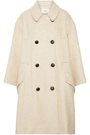 ISABEL MARANT ÉTOILE Flicka double-breasted wool-blend felt coat