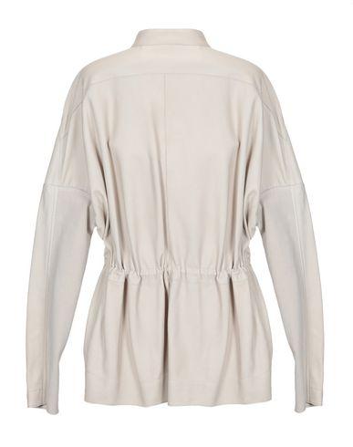 Фото 2 - Женскую куртку  светло-серого цвета
