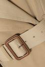 ALEXANDER MCQUEEN Cotton-gabardine trench coat