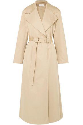 THE ROW Moora cotton-blend poplin trench coat