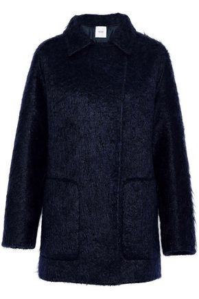 AGNONA Double-breasted mohair-blend coat