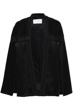 AMANDA WAKELEY Wool-blend jacquard cape