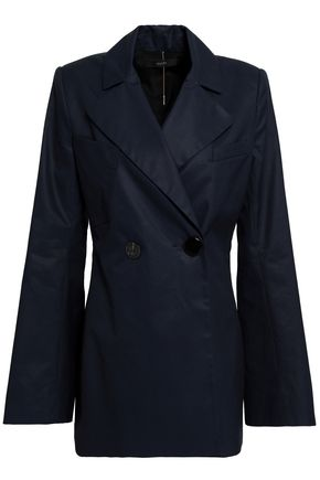 ELLERY Calling Card double-breasted cotton blazer